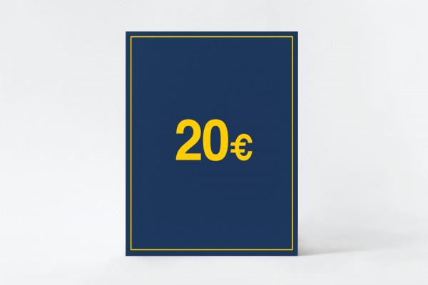 Gutschein - 20€
